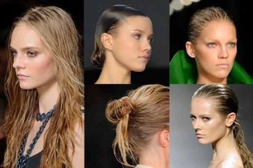Как сделать прическу чтобы волосы назад 230